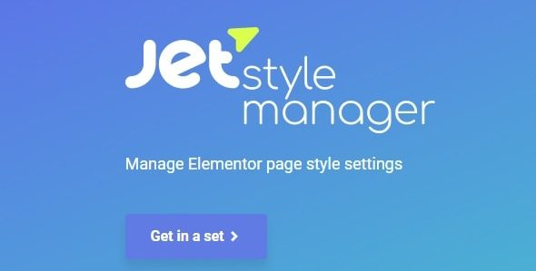 Jet Style Manager